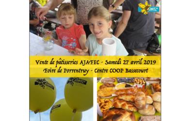 Vente de pâtisseries AJAFEC 2019