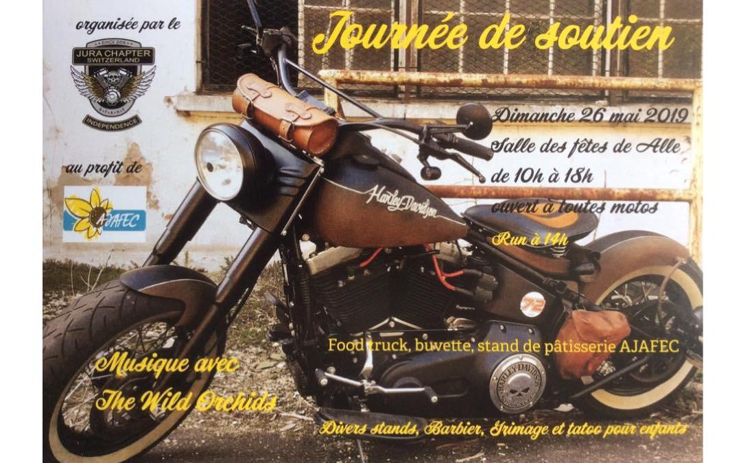 Jura Chapter – Journée de soutien pour l'AJAFEC