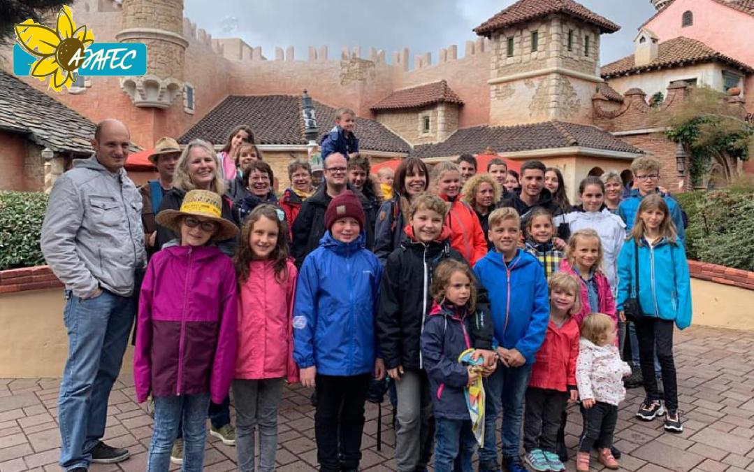 Sortie d'automne des familles à DisneyLand Paris