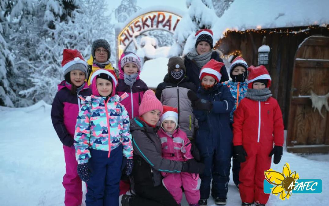 Voyage SURPRISE en Laponie pour les enfants