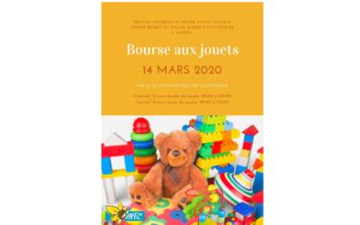 14 mars 2020 – Bourse aux jouets