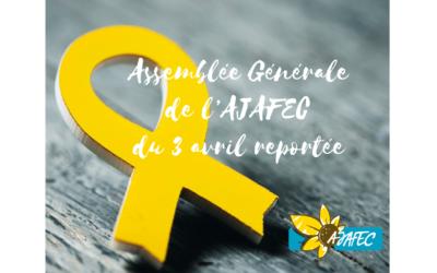 COVID-19 – Assemblée générale reportée