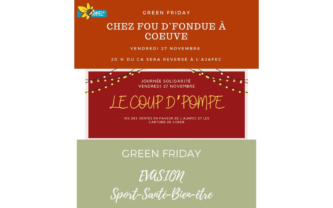 Green Friday pour l'AJAFEC