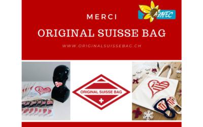Merci à Original Suisse Bag