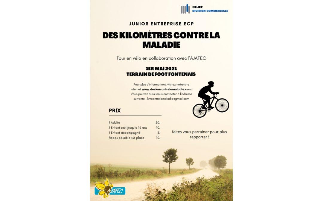 Junior Entreprise ECP – Des kilomètres contre la maladie